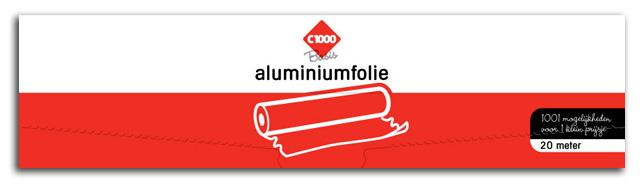 C1000 basis alufolie