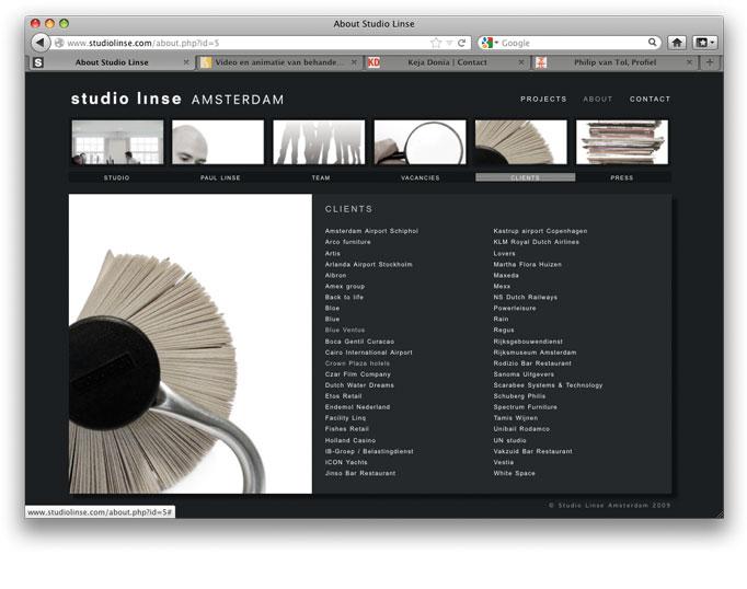 Studio Linse: Clients