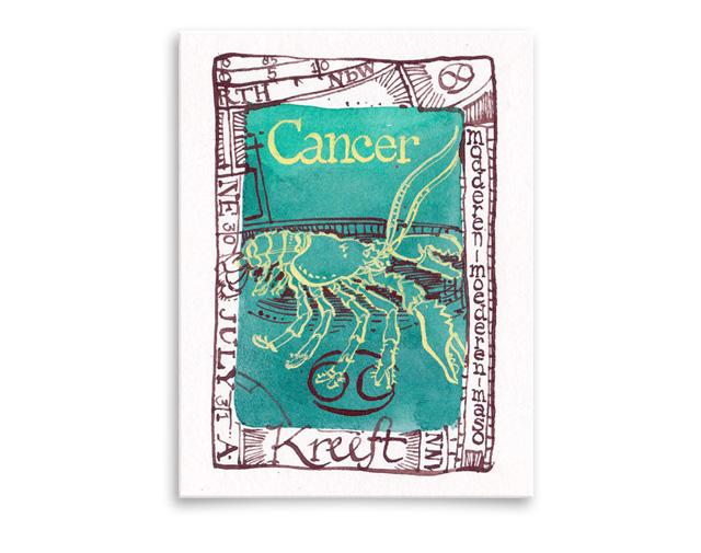 Sterrenbeeld Cancer / Kreeft