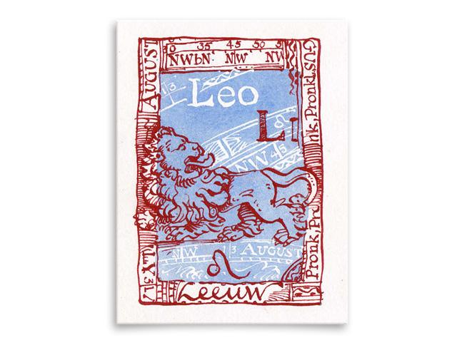 Sterrenbeeld Leo / Leeuw