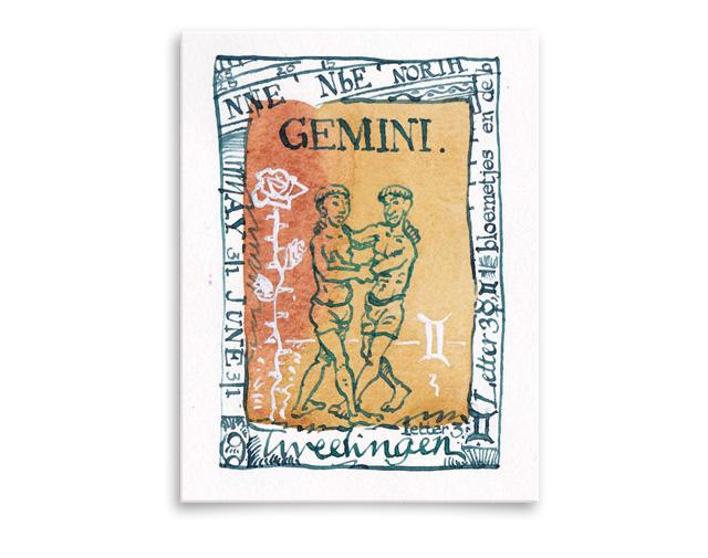 Sterrenbeeld Gemini / Tweelingen