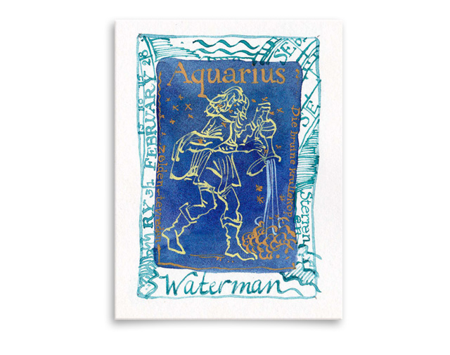 Sterrenbeeld Aquarius / Waterman