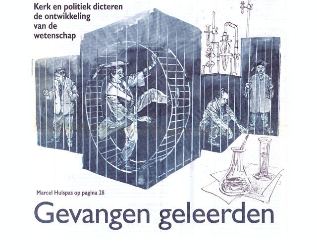 Intermediair: Gevangen geleerden