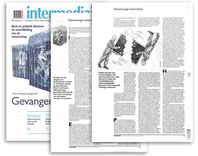 Intermediair: 3 paginaas