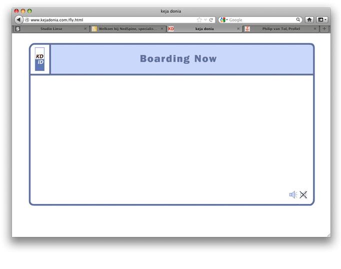 Boarding now...